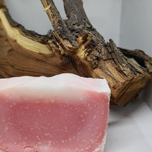 Soap pink himalayan salt